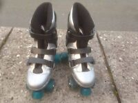 Youth Roller Quad Skates - Size 4 - Good condition, barely used from new - Bargain at just £8