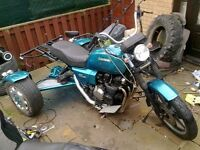 TRIKE PROJECT , minor work needed to complete
