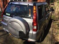 honda crv in silver 5 door cheap bargain must go