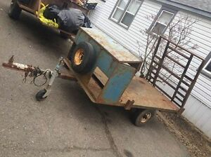 4 X 6 flatbed trailer for sale