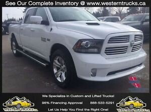 2014 Ram 1500 Sport ~ Loaded ~ 5.7L ~ 8 Speed ~ 4x4 $295 B/W
