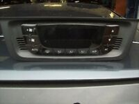 SEAT IBIZA DIGITAL HEATER CLIMATE CONTROL PART NO 6J0.820.043