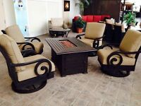 Outdoor Furniture - Swivel Rockers - Must See!