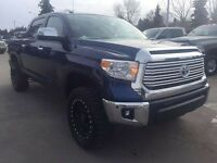"2015 Toyota Tundra Limited LIFTED ~ 4x4 ~ 35"" Tires ~ $333 b/w"