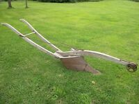 1800's Home made/Hand forged Field double plow