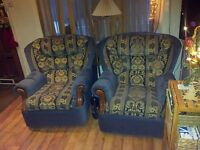 Tree seat sofa and two chairs for free