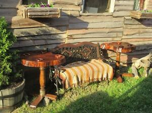 - Rustic Summer - Outdoor Tables -