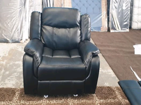 ⚫🌷⚫HEAVY DUTY LEATHER RECLINER CHAIR⚫🌷⚫