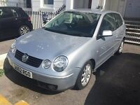 SILVER VW POLO 1.4 S- MOT UNTIL JAN 2017,