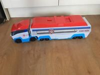paw patroller £20 no offers (missing back ramp) collection only gorleston