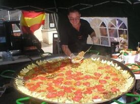 Paella pan jumbo 130cm last a life time