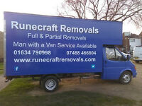 Runecraft Removals and Man and Van cheap single item moves! we cover medway etc!! House clearances