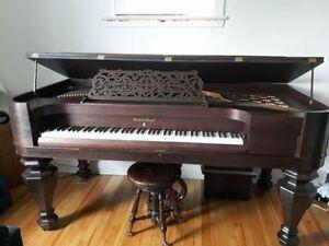 piano antique a vendre