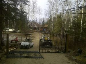 Trade handy man work for a beautiful trailer lot on our property
