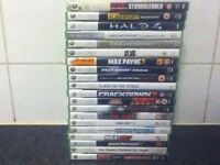 Xbox 360 games bundle for sale