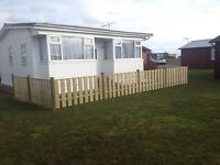 Beautiful detached chalet with enclosed garden
