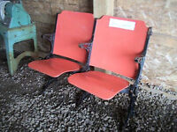 1930's Movie Theater Seats from the Savory Theater in Glace Bay