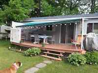 CHALET SUR CAMPING