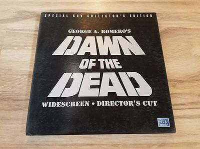 DAWN OF THE DEAD Collector's Edition 1978 (Uncut) [EE6255] LASERDISC LD BOX SET