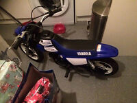 2017 YAMAHA PW 50 ONLY 30 MINS USE FROM NEW