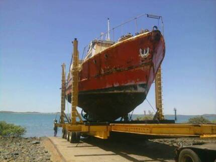 55' or 16.6m Steel Ex Trawler. Kailis K Class. Rec Fishing Boat Point Samson Roebourne Area Preview