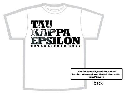 Founders Shirt TKE Tau Kappa Epsilon Fraternity Teke Rush (Fraternity Rush Shirt)