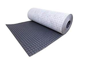 "Nuheat AC0105 Uncoupling Floor Heat Membrane 161 sq ft Roll (3'3"" x 49.5 ft)"