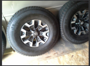 2016 tacoma rims and lt265*75*16 tires