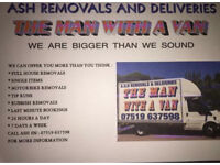A.S.H Removals The Man With A Van Northampton