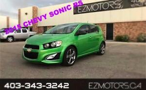 2015 Chevrolet Sonic RS--TURBO--ONE OWNER
