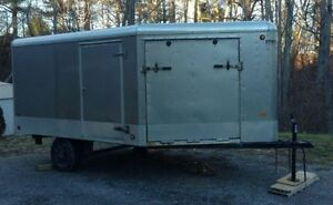 Drive On Drive Off Snowmobile Trailer 17'