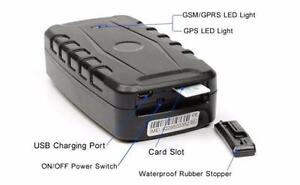 "GPS Tracking Service - Battery Powered Asset Tracker by ""Trackem GPS"""
