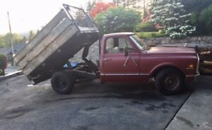 1971 Chevy Truck with Dump Box