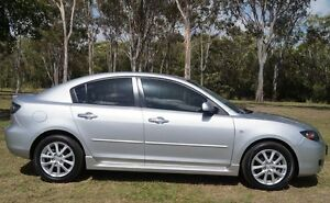 2008 Mazda 3 BK10F2 Maxx Sport Silver 4 Speed Sports Automatic Sedan Bundaberg West Bundaberg City Preview