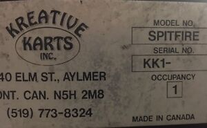 KREATIVE KARTS, GO CARTS, RECREATIONAL KARTS, AMUSEMENT KARTS Belleville Belleville Area image 4