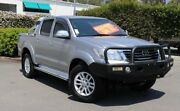2014 Toyota Hilux GGN25R MY14 SR5 Double Cab Silver 5 Speed Automatic Utility Acacia Ridge Brisbane South West Preview