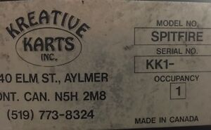 KREATIVE KARTS, GO KARTS, RECREATIONAL KARTS, AMUSEMENT KARTS Belleville Belleville Area image 5