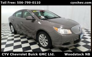 2012 Buick LaCrosse CX - Sunroof, Remote Start, 3.6L V6