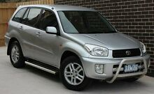2002 Toyota RAV4 ACA21R Advantage Limited Edition Edge Silver 4 Speed Automatic Wagon Thomastown Whittlesea Area Preview