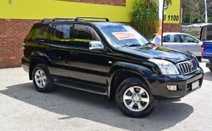 2003 Toyota Landcruiser Prado GRJ120R GXL Black 4 Speed Automatic Wagon Upper Ferntree Gully Knox Area Preview