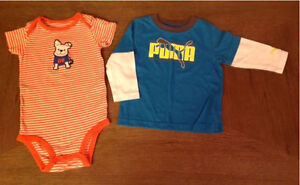 Boys 18 months - Only $3 for both! Puma and Carter