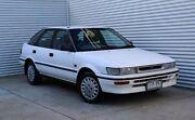 1993 Toyota Corolla AE94 CSi Limited Seca White 4 Speed Automatic Liftback Thomastown Whittlesea Area Preview