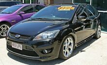 2008 Ford Focus XR5 Black 5 Speed Manual Hatchback Ashmore Gold Coast City Preview