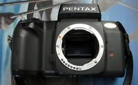 BLACK PENTAX SF-10 FILM CAMERA, BODY ONLY