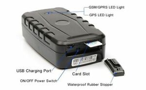 """GPS Tracking Device """"The BAT"""" Battery Powered w/ Magnet!"""
