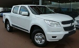 2016 Holden Colorado RG MY16 LS Crew Cab White 6 Speed Manual Utility Gosnells Gosnells Area Preview