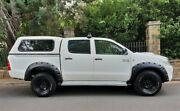 2010 Toyota Hilux KUN26R MY10 SR White 5 Speed Manual Utility Medindie Walkerville Area Preview