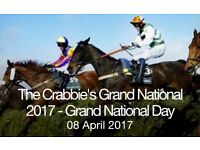 2 grand national tickets 8th April