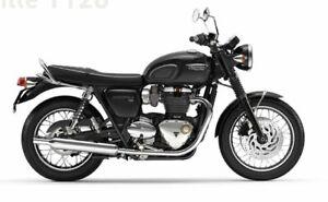 2019 Triumph Bonneville T120 Black Road Bike 1200cc