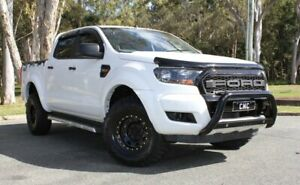 2015 Ford Ranger PX MkII XL Double Cab White 6 Speed Sports Automatic Cab Chassis Southport Gold Coast City Preview